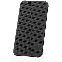 Etui Dot View HTC HC M140 LITE Szare do HTC Desire 620 Dual SIM - Szary