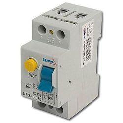BEMKO Wyłącznik różnicowoprądowy 2P 40A 30mA A05-N7-2-40-030