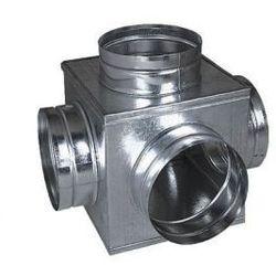 Skrzynka rozdzielcza sześcian 5x125mm ocynk