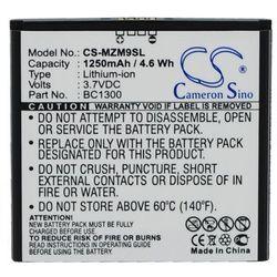 MeiZu M9 / BC1300 1250mAh 4.6Wh Li-Ion 3.7V (Cameron Sino)
