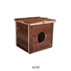 Drewniany domek dla gryzoni Jerrik Rozmiar:50 × 25 × 33 cm
