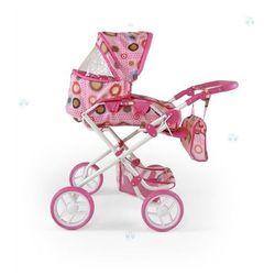 MILLY MALLY Wózek dla lalek Paulina brąz