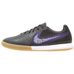Nike Performance MAGISTAX FINALE IC Halówki black/wolf grey/force purple/white