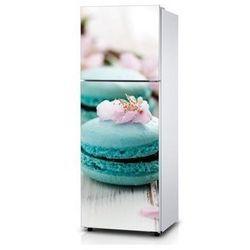 Naklejka na lodówkę - Błękitne ciastko - Naklejka laminowana
