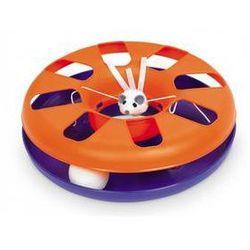 Zabawka dla zwierząt Nobby Kitty 24cm Purpurowa/Pomarańczowa