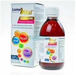 Loma vital żelazo+cynk 250 ml