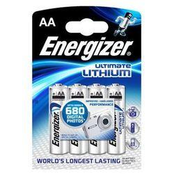 4 x bateria foto litowa Energizer L91 Ultimate Lithium R6 AA