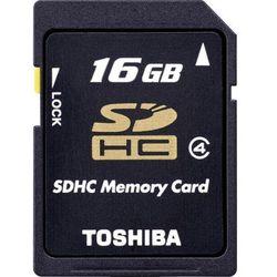 Karta pamięci SDHC Toshiba THN-N102K0160M4, 16 GB, Class 4