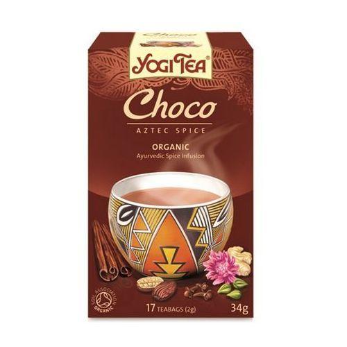Herbata Czekoladowa BIO (Yogi Tea) 17 saszetek po 2g