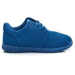 SPORTOWE Damskie buty damskie ACTIVE Niebieski - odcienie niebieskiego