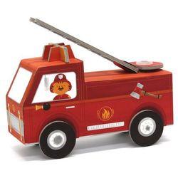 Wóz strażacki - model do składania