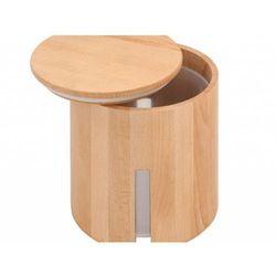 Pojemnik PRACTIC Listek drewniany duży