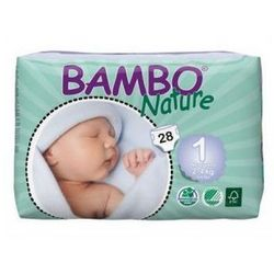 Bambo Nature Newborn 2-4kg, 28szt.