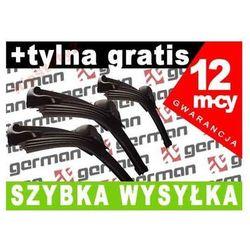 WYCIERACZKI GRM AUDI A4 95-01 PRZÓD + TYŁ GRATIS
