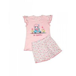 Piżama Cornette Kids Girl 787/22 Be Careful kr/r