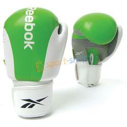Rękawice bokserskie Reebok Professional (zielone)