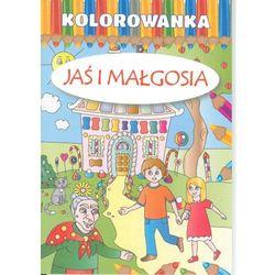 Kolorowanka. Jaś i Małgosia + zakładka do książki GRATIS (opr. broszurowa)