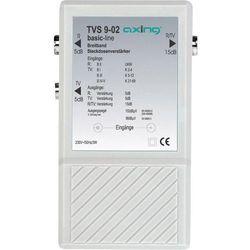 Wzmacniacz sygnału telewizyjnego, radiowego Axing TVS 9, 2 wyjścia