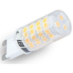 LED line Żarówka LED G9 SMD 4W (40W) 350lm 230V barwa zimna 245541