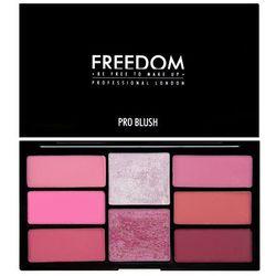 Freedom, Pro Blush Palette Pink And Baked, Zestaw do makijażu Darmowa dostawa do sklepów SMYK