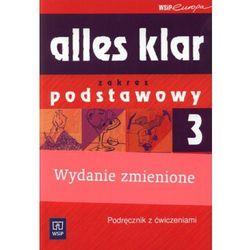 Alles klar 3 Podręcznik z ćwiczeniami z płytą CD (opr. miękka)