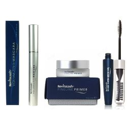 RevitaLash Zestaw: FineLine Primer 15ml + Volumizing Mascara 7,39ml + Hi-Def Tinted Brow Gel 7,4ml