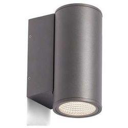 Zewnętrzna LAMPA ścienna MIZZI R10549 Redlux metalowa OPRAWA elewacyjna LED IP54 outdoor antracyt