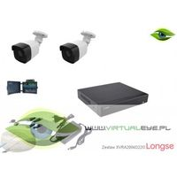 Zestaw do monitoringu 4w1 1080P Longse XVRALBM24HTC200F22