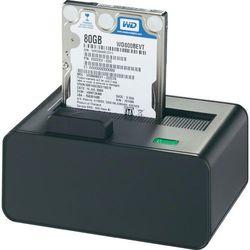 Stacja dokująca do dysków twardych, HDD renkforce 1013326, USB 2.0, eSATA, SATA, 1 Port