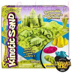 Kinetic Sand - podwodny świat + foremki 454g zielony