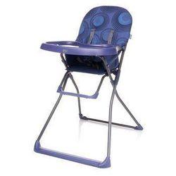 Krzesełko do karmienia Flower XVI purpurowe