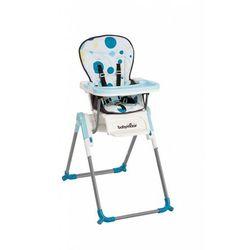 Babymoov, Wysokie krzesełko do karmienia, niebieskie Darmowa dostawa do sklepów SMYK