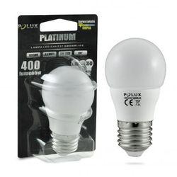 Żarówka POLUX LED 5,5W 35W gwint E27 400lm ciepła/żółta barwa światła POLUX/SANICO - wysyłka 24h