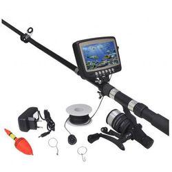 Podwodna kamera wędkarska z wyświetlaczem 4,3