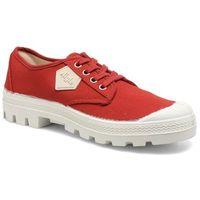 Buty sznurowane Aigle Rubber Saint Germain Low W Damskie Czerwone Dostawa 2 do 3 dni