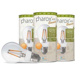 Zestaw 3 żarówek Pharox LED 400 Classic E27 40W