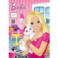 Barbie™ kolorowanka z zadaniami D1048 (opr. miękka)
