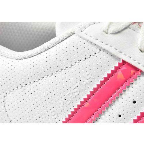Buty Adidas SUPERSTAR J DB1210 białe paski różowy opal
