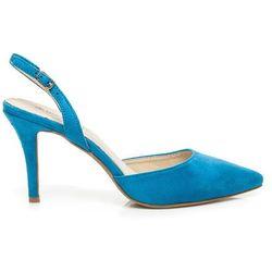 Czółenka na szpilce Gabriella - odcienie niebieskiego