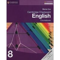 Cambridge Checkpoint English Coursebook 8 (opr. miękka)
