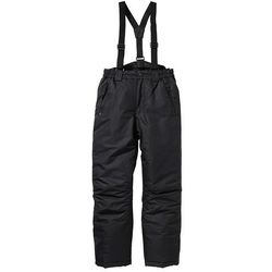 Spodnie narciarskie termoaktywne bonprix czarny