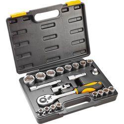Zestaw kluczy nasadowych TOPEX 1/2 cala 38D642 (21 elementów)