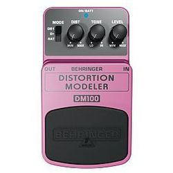 Behringer DISTORTION MODELER DM100 efekt gitarowy