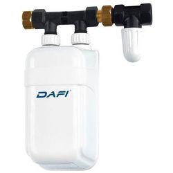 Elektryczny Momentalny Przepływowy Ogrzewacz Wody DAFI - wersja z przyłączem - 4,5 kW 230 V
