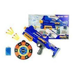 Pistolet 2w1 na strzałki piankowe i kulki wodne