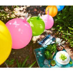 Łańcuch świetlny LED z balonami