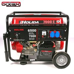 Generator prądu WM7000E jednofazowy 7 kW - elektryczny rozruch