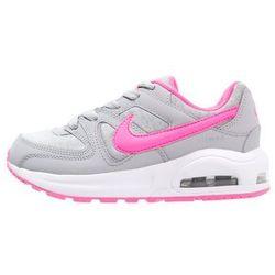 Nike Sportswear AIR MAX COMMAND Tenisówki i Trampki wolf grey/pink blast/white