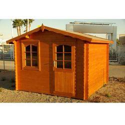 Mały domek letniskowy z drewna Monako
