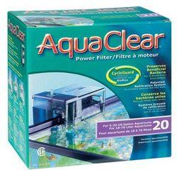 HAGEN AquaClear 20-Mini Filtr zewnętrzny kaskadowy do akwarium o poj. 18-76L